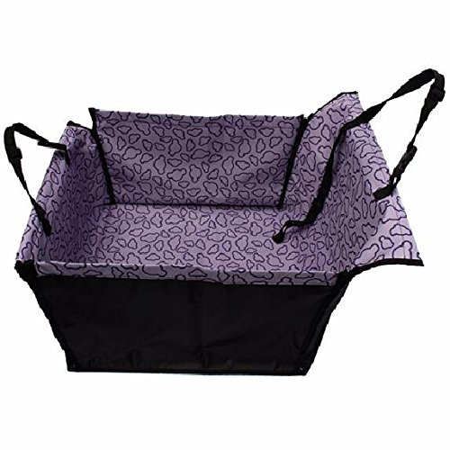 Pet Dog Cat Hammock Car Seat Cover Single/Double Waterproof Oxford Cloth Rear Back Seat Carrier Protector Booster Mat Blanket,Safety Pet Travelling Bag