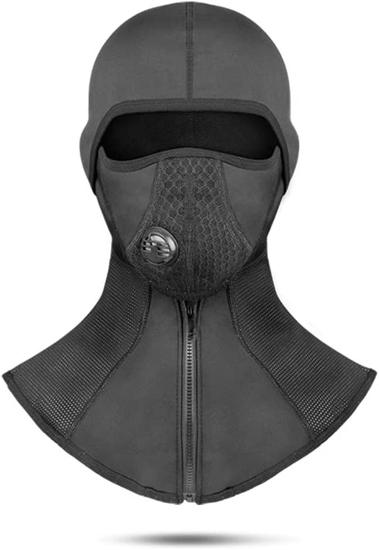 CoolChange Balaclava Filter Windproof Ski Mask Cold Weather Hood Motorcycle Cycling Face Mask