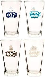 Buffalo NY Memories Hometown Beer Pint Glass Set - 16 Ounces - 4 Pack
