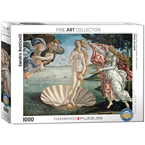 EuroGraphics Birth of Venus by Botticelli 1000 Piece Puzzle