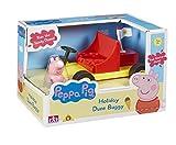 Peppa Pig - Vehículo de Vacaciones George, Color Amarillo (Bandai 05577)