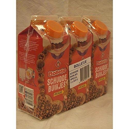 Bolletje Schudde Buikjes, Brotbelag, 3 x 225g Päckchen