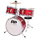Performance Percussion PP101RD PP Drums Junior Drum Set (3 Pieces) Metallic Red