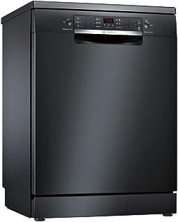 Bosch Serie 4 SMS46JB17E lavavajilla Totalmente integrado 13 cubiertos A++ - Lavavajillas (Totalmente integrado, Tamaño completo (60 cm), Negro, 1750 m, 165 m, 1900 m)