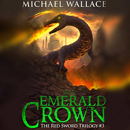 The Emerald Crown audiobook cover art