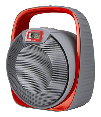 Memorex Floating Bluetooth Speaker Submarine 4000mAh - Grey and Red (MW601)