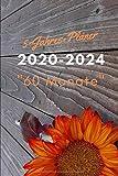 5-Jahres-Planer 2020-2024 '60 Monate': Jahresplaner Monatskalender