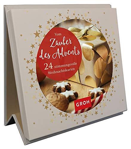 Vom Zauber des Advents. 24 stimmungsvolle Weihnachtskarten