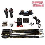 Winchmax - Kit di Installazione per verricello Idraulico Senza Fili, 24 V