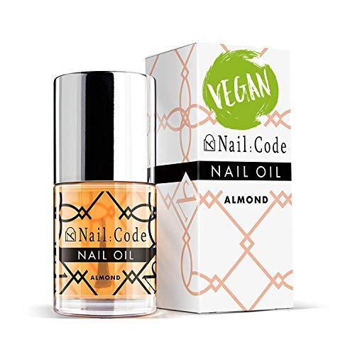 Nail:Code veganes Nagelöl Mandel Gelnägel Pflege Nagelhaut Nail & Cuticle Oil, nail care natural care nagelhautpflege nagelpflegeprodukte Nagelpflegeöl 10ml. (almond)