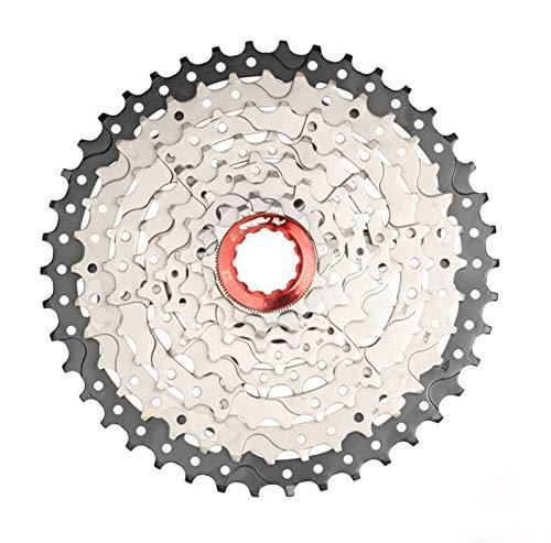 Lijincheng Ruedas Libres MTB Bicicleta Freewheel 8 9 10 11 Speed 40 42 46 50T Flywheel para Shinamo XT SLX SRAM Bicicleta de montaña Ciclismo Accesorios (Color : 8Speed 11 40T)