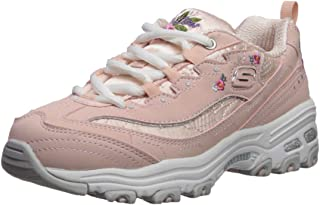 Skechers D'lites-Bright Blossoms, Zapatillas para Niñas