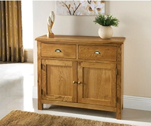 New Wiltshire 2 Door 2 Drawer Oak Sideboard gives an elegant look to any home.
