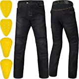 ILM Motorcycle Dirt Bike Motocross Pants for Men CE Armored Riding Gear Jeans