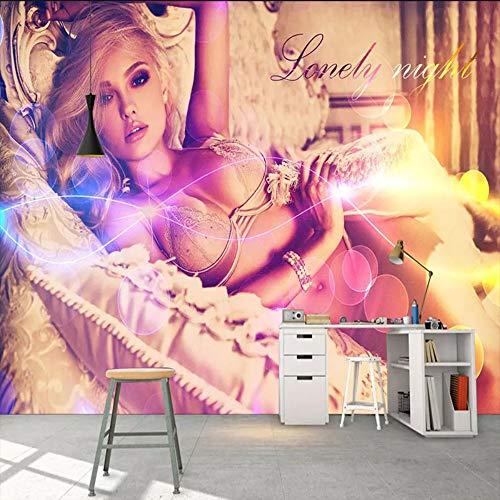 Dalxsh aangepaste 3D muurschildering achtergrond behang badkamer sauna lichaam kunst fotografie schoonheid behang muurschildering 200x140cm