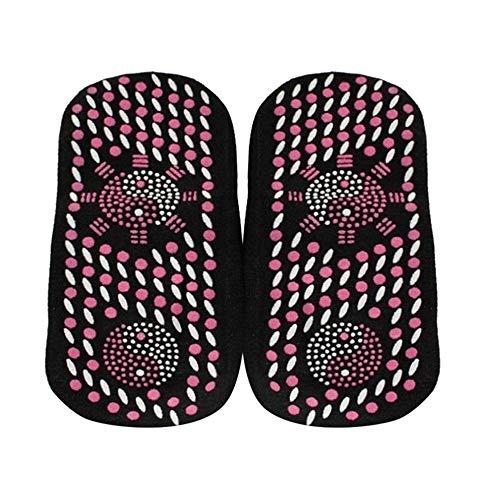 KAERMA Turmalin Selbst Heizung Magnetische Socken bequem und atmungsaktiv Winter Ski Fitness Thermal Sportsocken 2019 Neu Outdoor-Produkte (Color : E416431A, Size : XL 1Pair)