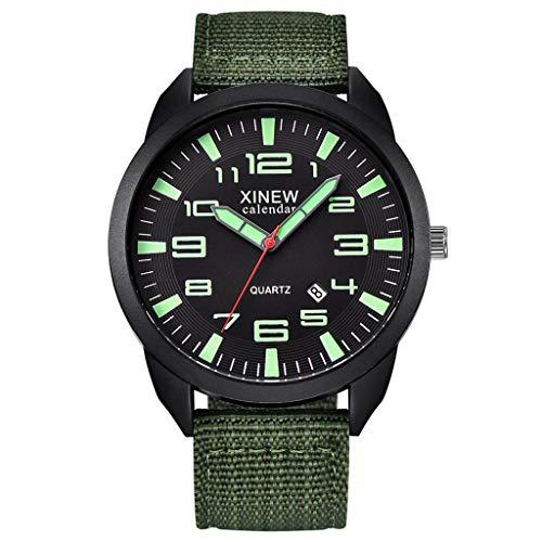Uhr für Herren Groveerble Armbanduhr für Männer Edelstahl Military Fitness Analog Quarz Outdoor Sportuhr Geburtstagsgeschenk Abschlussgeschenk mit Datum