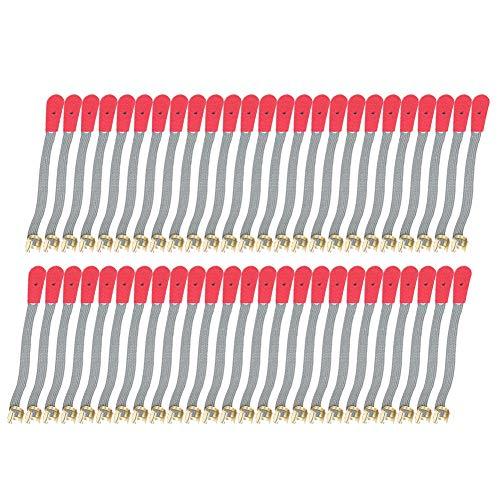 50 piezas de cuerda de afinación de piano, cuero sintético