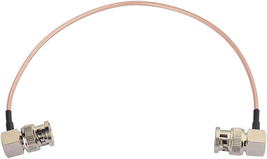 Eightwood Sdi Kabel Bnc Kabel Stecker Auf Stecker Bnc Rechter Winkel 30cm Rg179 Koaxial Für Bmcc
