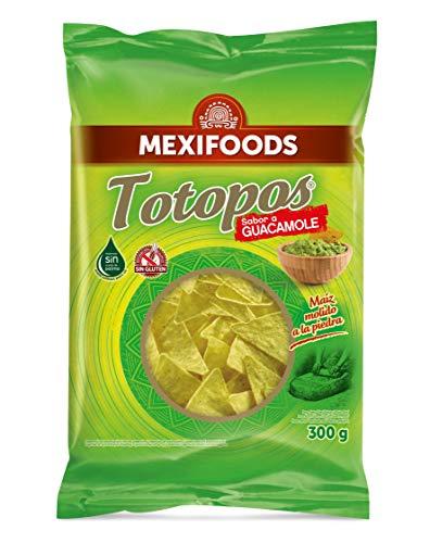 Mexifoods - Totopo Sabor a Guacamole, 1 unidad, 300 g