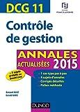 DCG 11 - Annales actualisées