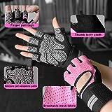 Fitself Fitness Handschuhe Trainingshandschuhe Gewichtheben Handschuhe mit Handgelenkstütze für Kraftsport Crossfit Workout Herren Damen - 2