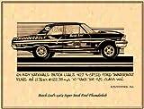 K. Scott Teeters - Illustrated Corvette Series Butch Leal 1964 Ford 427 Thunderbolt Nostalgia Drag Racing Poster Art Print