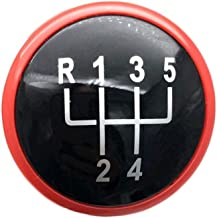 LSB de Cambio de Mando, 1pc 5/6 Speedgear Shift Caso Placa Cubierta Tapa de Mando for VW Golf IV 3 4 Jetta MK3 MK4 GTI Bora Lupo Polo Caddy Seat Ibiza Cordoba Inca (tamaño : Red 5 Speed)