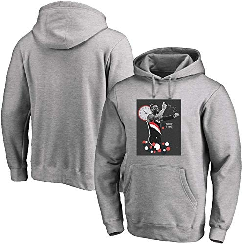Sudadera con capucha NBA Sudadera con capucha para jóvenes, Portland Sendero Blazers Damian Lillard 0 # Sudadera con capucha de baloncesto Suéter deportivo de manga larga Mejor regalo de cumpleaños S-