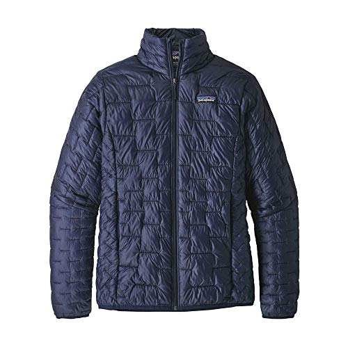 Patagonia Damen W's Micro Puff JKT Jacket, Klassisch Marineblau, S