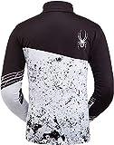 Spyder Men's Mandate Zip T-Neck – Pullover Long Sleeve Active Shirt