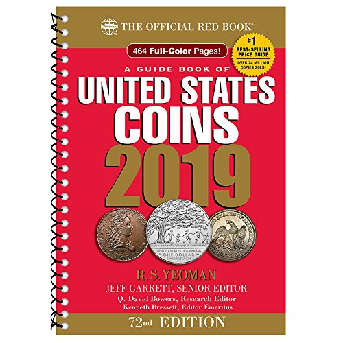 2019 Official Red Book of United States Coins – Spiral Bound