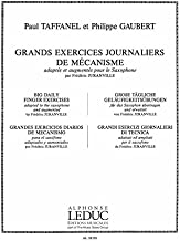 17 Big Daily Finger Exercises / 17 Grands Exercises Jounaliers de Mecanisme / 17 Grandes Ejercicios Diarios de Mechanismo By Paul Taffanel & Philippe ... Chinese, English, Spanish and French Edition)
