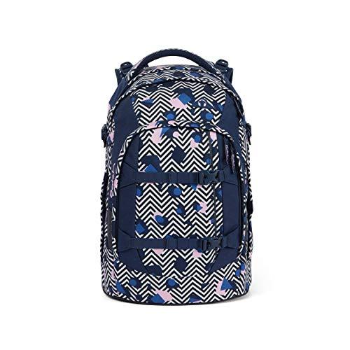 Satch pack Schulrucksack - ergonomisch, 30 Liter, Organisationstalent - Stoney Mony - Lila