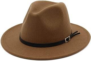 HaiNing Zheng Wool Fedora Hat For Adult Gentleman Elegant Lady Winter Autumn Wide Brim Jazz Church Panama Sombrero Cap