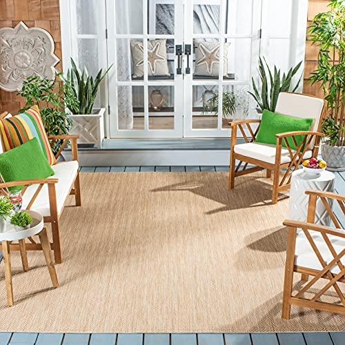 Safavieh Courtyard Collection CY8022 Indoor/ Outdoor Non-Shedding Stain Resistant Patio Backyard Area Rug, 6'7