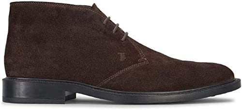 Tod's - Short Ankle bottes in in Rich marron Suede - XXM45A00D80RE0S800  plus abordable