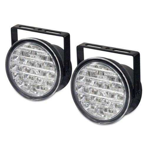 Dino 610795 LED Tagfahrlicht/Tagfahrleuchten rund ECE R87