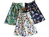 Sackcloth Sally Lot de 3 Serviettes de Table Enfant élastiquées - Zoo