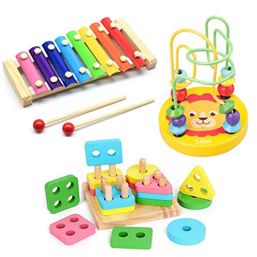SneeperZ 知育玩具 3点セット 知育 赤ちゃん おもちゃ ルーピング 型はめパズル