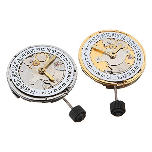 DyNamic Meccanico Automatico Orologio Movimento Calendario Ad Alta Precisione Sostituzione Orologio Da Polso Per Eta 2824 - Bianco