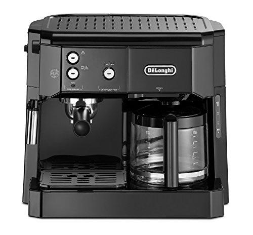 avis combine expresso cafetiere professionnel Pompe espresso composite Delonghi BCO 411.B, noir, 1,4 l