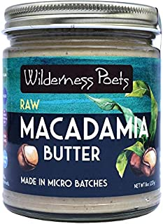 Wilderness Poets, Raw Macadamia Butter (8 Ounce)