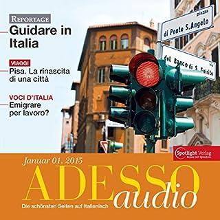 ADESSO Audio - Pisa. 1/2015 Titelbild