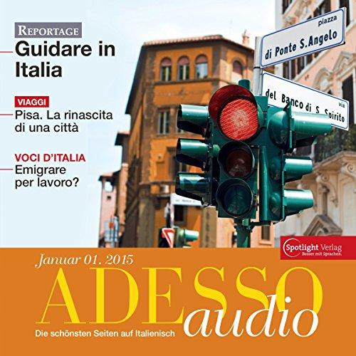 ADESSO Audio - Pisa. 1/2015 cover art