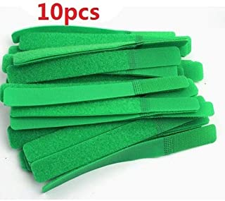منظم الكابلات ZYZRYP سلك لفافة كليب سماعة أذن حامل ماوس سلك إدارة الكابل (اللون: 10 قطع أخضر)
