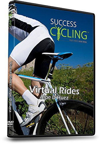 Virtual Rides Alpe d\'Huez Indoor Cycling Trainer DVD