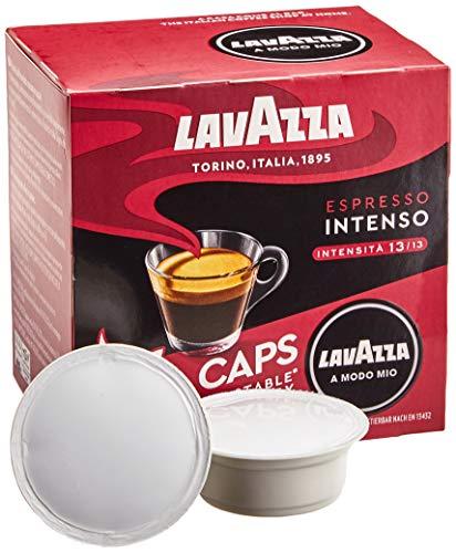 Lavazza A Modo Mio Eco Kaffeekapseln - Espresso Intenso - kompostierbar - 6 x 16 Kapseln - 6er Pack (6 x 120g)