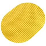 SSAV 'Power' Foot Massage Mat for Plantar Fasciitis, Heel Spurs, Arch Pain, Foot Pain, Foot Massager for Physiotherapy, Acupressure Mat, Feet Massage Pad Recommended by Physiotherapists - Yellow