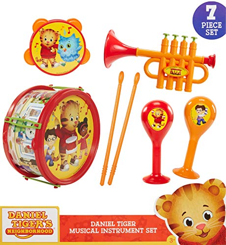 Daniel Tiger's Neighborhood Juego de instrumentos musicales